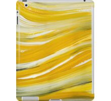 Gold Waves Abstract Painting iPad Case/Skin