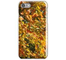 October Fall Leaves Northeast iPhone Case/Skin