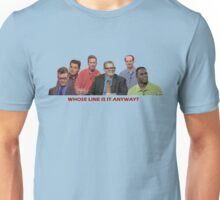 Whose Line is it Anyway Cast! Unisex T-Shirt