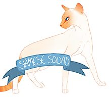 Flame Point Siamese by alpmelociraptor