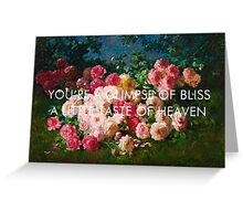pvris / st. patrick / graves Greeting Card