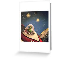 Space Toys Greeting Card