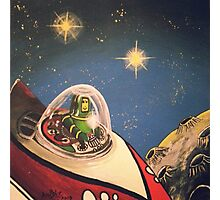 Space Toys Photographic Print