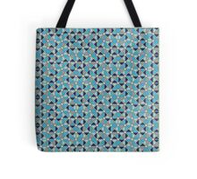 Tessellated Triangles in Shades of Blue Tote Bag