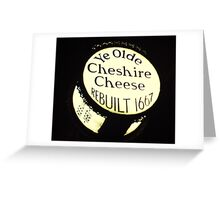 and only £1.99 a pint.... Greeting Card