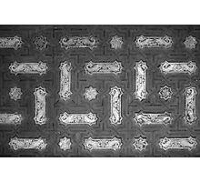 Spanish Ceiling Pattern 1 Photographic Print