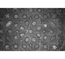 Spanish Ceiling Pattern 2 Photographic Print