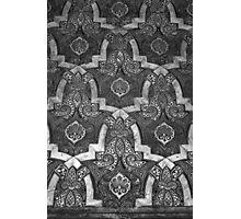 Spanish Wall Pattern 7 Photographic Print