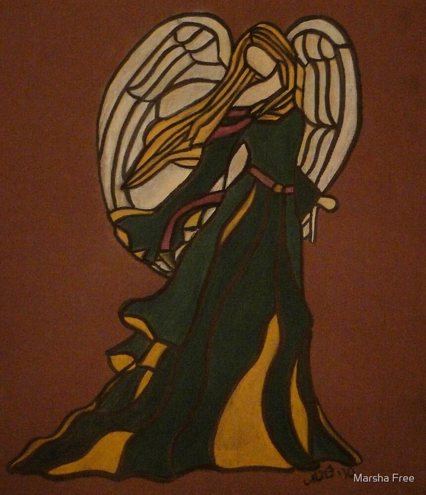 Adored - Christmas Angel by Marsha Free