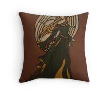 Adored - Christmas Angel Throw Pillow