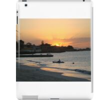 Jamaican Beach Sunset iPad Case/Skin