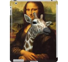Mona Lisa Loves Giraffes iPad Case/Skin