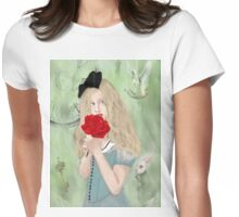 But I preferred them white. Womens Fitted T-Shirt