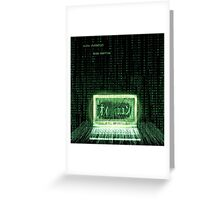 PC Geek (Decode Encryption) Greeting Card