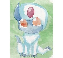 Baby Absol Photographic Print