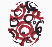 Circles Abstract Painting Kids Clothes