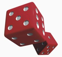 Red Dice by Paul Pegler
