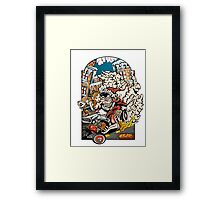 A Very Ratfink Christmas Framed Print
