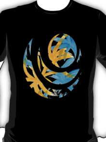 Palm Island Abstract Painting T-Shirt