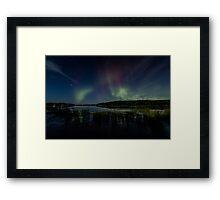 Victory-August Northern Lights Framed Print