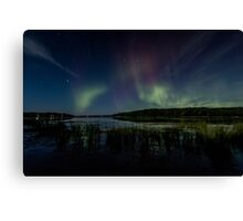 Victory-August Northern Lights Canvas Print