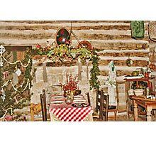 Pioneer Christmas Photographic Print