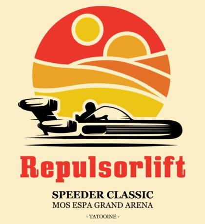 Speeder Classic Sticker