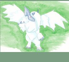 Mega Absol by werewolf-Pirate