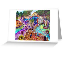 Earl Daz - Eumundi Markets Greeting Card