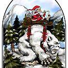 Santa Yetti by ZugArt