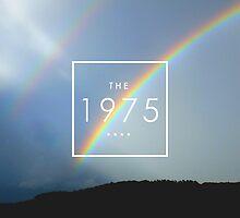the 1975 logo on a rainbow by Theorgasmic1975