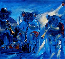 Koala jazz by Brian Tisdall