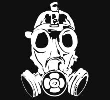 Gas Mask White edition by TriPtiK