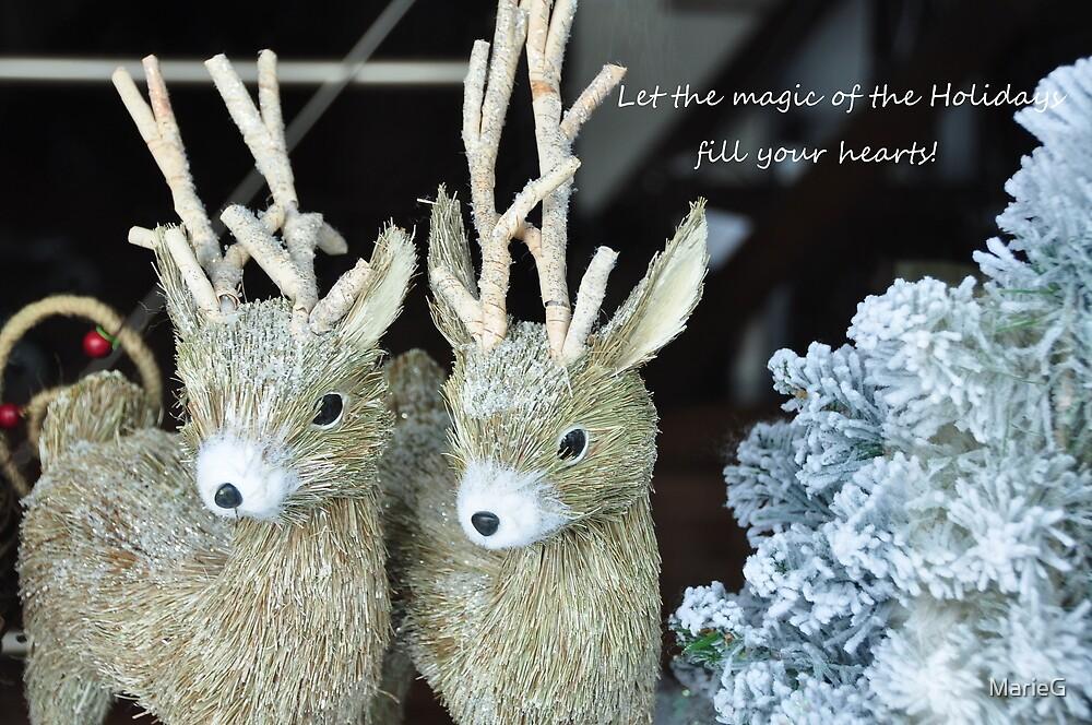 Reindeer games! by MarieG