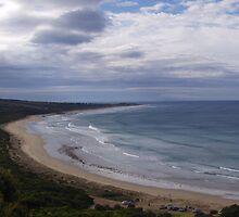 Great Ocean Road Beach by SkiCC
