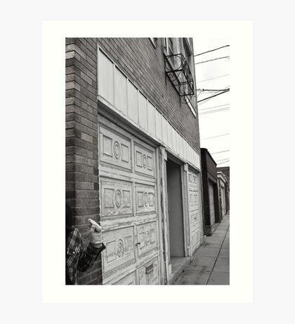 Buffalo Alley Art Print