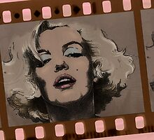 Celluloid Celebrity by Ron Davey