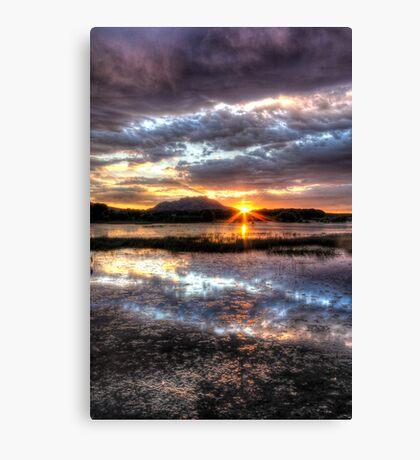 Willow Lake Blues Canvas Print
