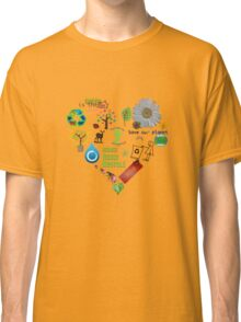 Green Slice Classic T-Shirt