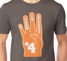 Orange Foam Finger Unisex T-Shirt