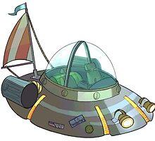 Rick's ship by bocsart