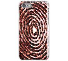 MysticCoder © Binary Code Thumbprint  iPhone Case/Skin