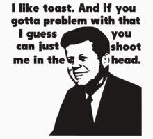 John F. Kennedy's Militant Toast Speech by tommytidalwave