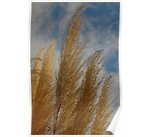 Glittery Grass Poster