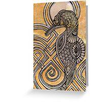 Illuminated Seahorse Greeting Card