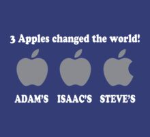 3 Apples Change The World by GeishaShirt89