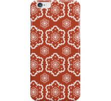 Red and White Pattern iPhone Case/Skin