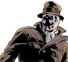 Rorschach from Watchmen by mciren