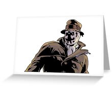 Rorschach from Watchmen Greeting Card