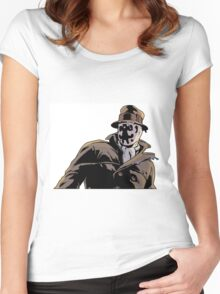 Rorschach from Watchmen Women's Fitted Scoop T-Shirt